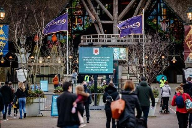 Nederlandse pretpark Efteling gaat woensdag weer open