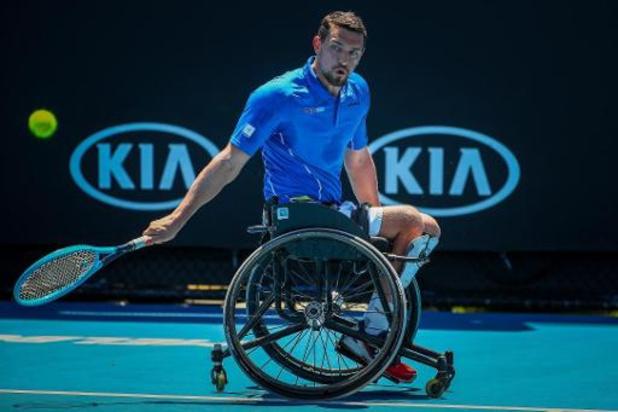 Joachim Gérard verliest dubbelfinale op Master