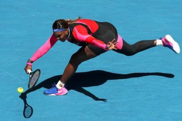 Open d'Australie - Serena, perturbée, mais passe en 8es