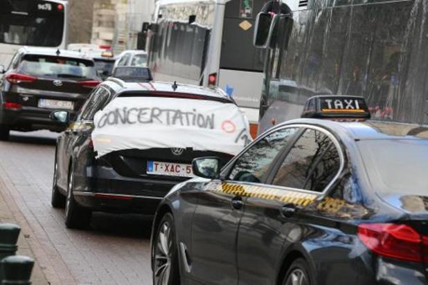 La manifestation contre la politique de mobilité à Bruxelles s'est mise en route