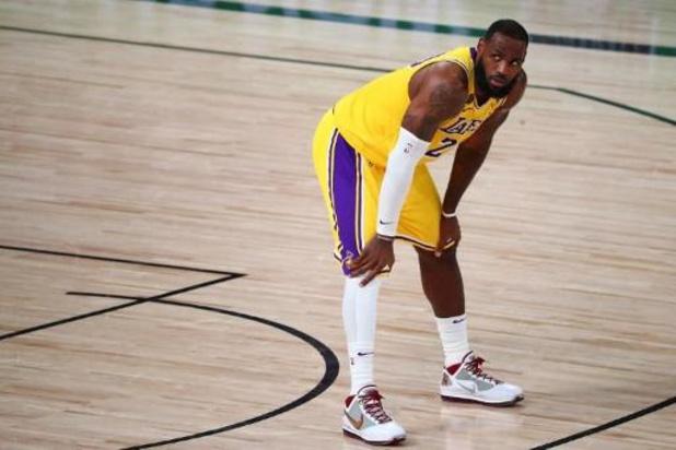 NBA - Les Lakers reprennent la main face à Portland