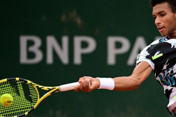 Roland-Garros: Félix Auger-Aliassime battu d'entrée