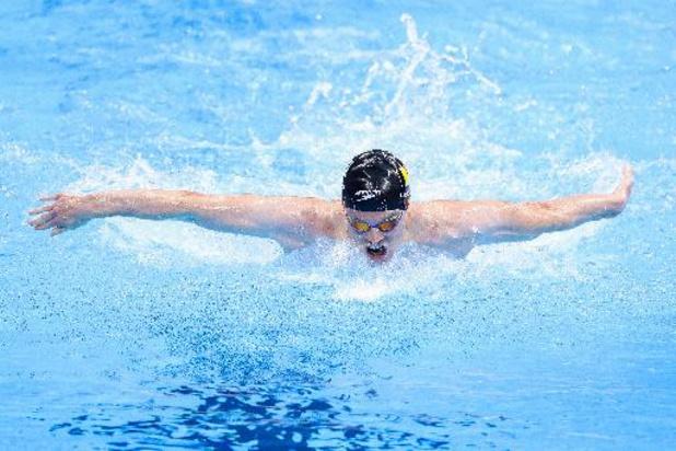 JO 2020 - Louis Croenen n'a pas réussi à se qualifier pour la finale du 200 m papillon