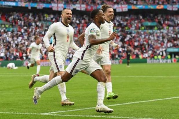 Engeland schaart zich bij laatste acht na 2-0 zege tegen Duitsland