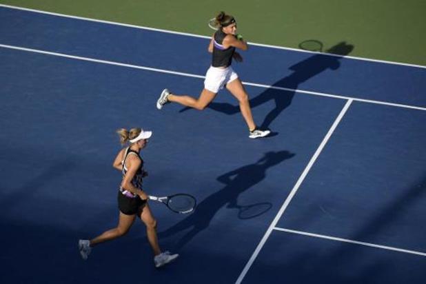Elise Mertens rukt op naar halve finales dubbelspel