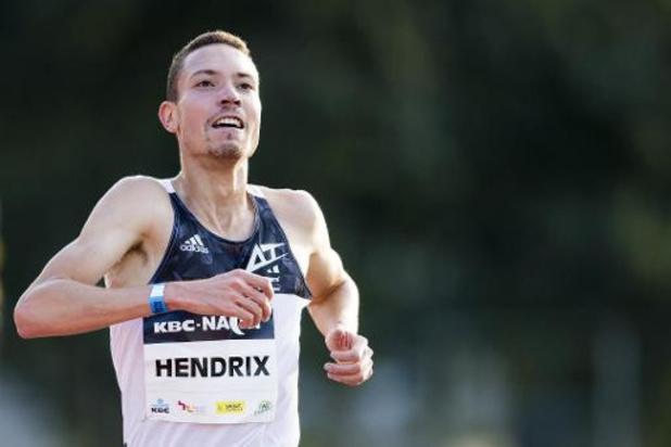 Robin Hendrix blijft in Bolzano net boven Europees record op de 5 km op de weg