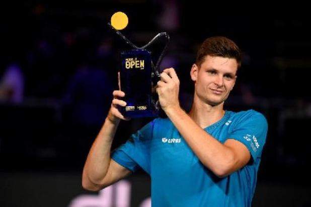 Hubert Hurkacz s'offre un 4e titre ATP