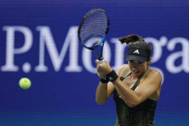WTA Chicago - Muguruza steekt eindzege op zak