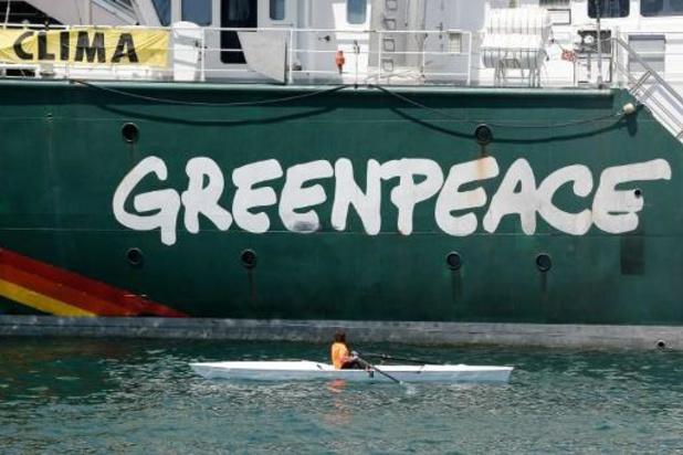 "Greenpeace: België verdient titel ""Blue Leader"" niet"