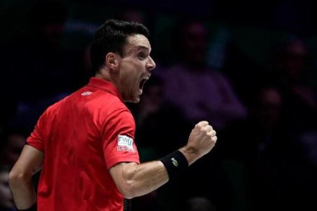 Coupe Davis - Finale: l'Espagne mène 1-0 face au Canada
