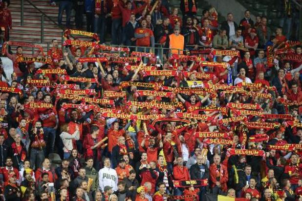 Au moins 35.000 tickets en vente pour le match Belgique - Tchéquie, une première depuis deux ans