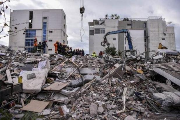 Dodental aardbeving Albanië stijgt naar 40
