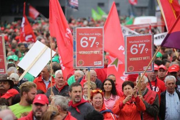 Effectieve pensioenleeftijd in België nog steeds bij laagste van OESO