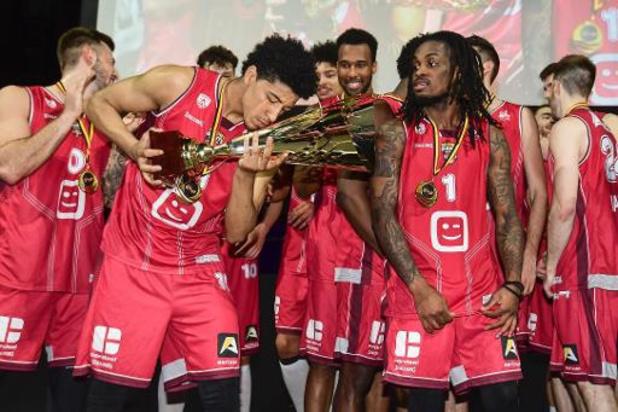 Basket : Anvers défend son trophée face au Spirou de Charleroi dimanche