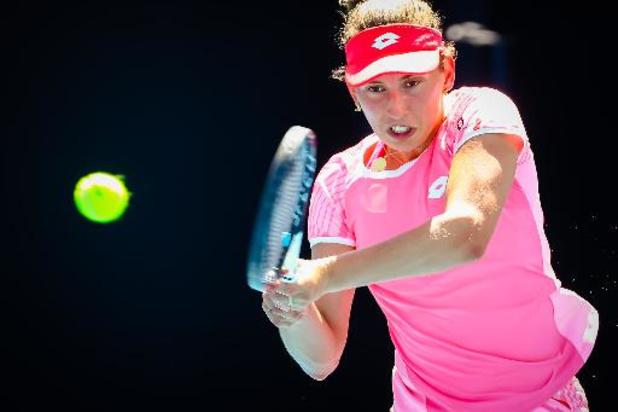 Elise Mertens dispose de Katerina Siniakova et se qualifie pour les demi-finales
