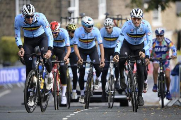 Mondiaux de cyclisme - Une équipe belge solide à l'assaut d'un maillot arc-en-ciel dans le Yorkshire