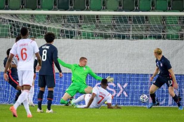 Euro 2020 - La Suisse bat les Etats-Unis en préparation