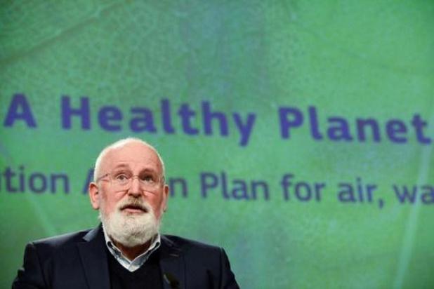 """Une stratégie UE vers un niveau """"zéro pollution"""" en 2050"""