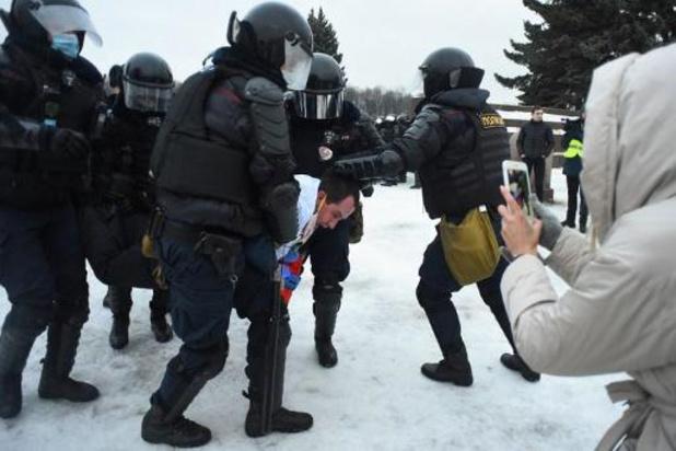 Vergiftiging Navalny - Al meer dan 2.000 arrestaties bij protesten ter ondersteuning van Navalny
