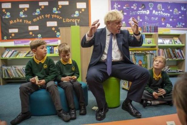Brexit op 31 oktober nog steeds mogelijk, houdt Johnson vol