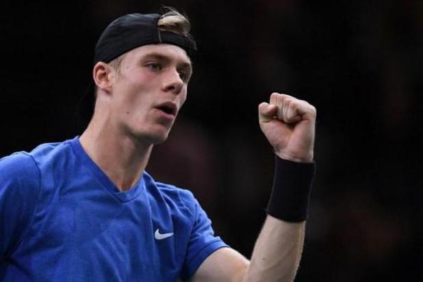 """ATP Paris-Bercy - Shapovalov, qualifié pour sa 1re finale d'un Masters 1000, est """"sous le choc"""""""