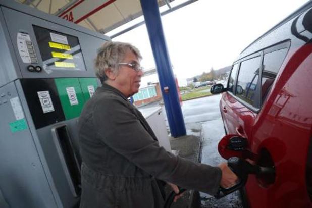 Le prix de l'essence en baisse