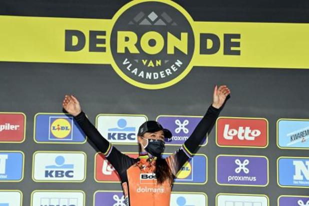 """Ronde van Vlaanderen voor vrouwen - Chantal van den Broek-Blaak ziet droom uitkomen: """"Hiervoor doe je het"""""""