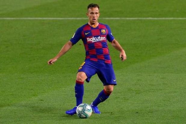 La Liga - Arthur absent pour la reprise de l'entraînement au Barça, qui envisage des sanctions