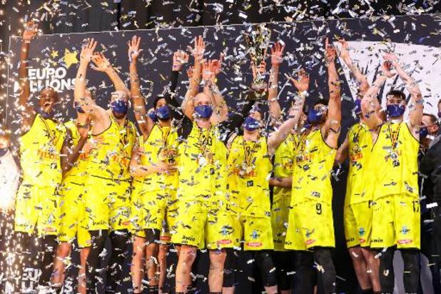 Un nouveau format de la Coupe de Belgique de basketball sera instauré à partir de la saison prochaine