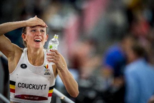 Les Belgian Cheetahs en finale du relais 4X400m en athlétisme avec un record de Belgique