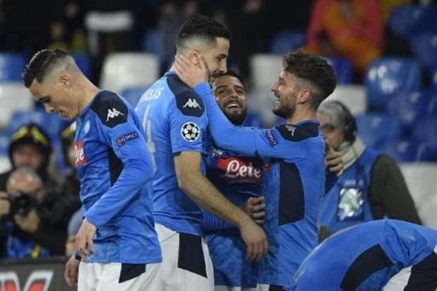 Les Belges à l'étranger - Naples et Mertens, auteur d'un assist, s'imposent contre le Torino