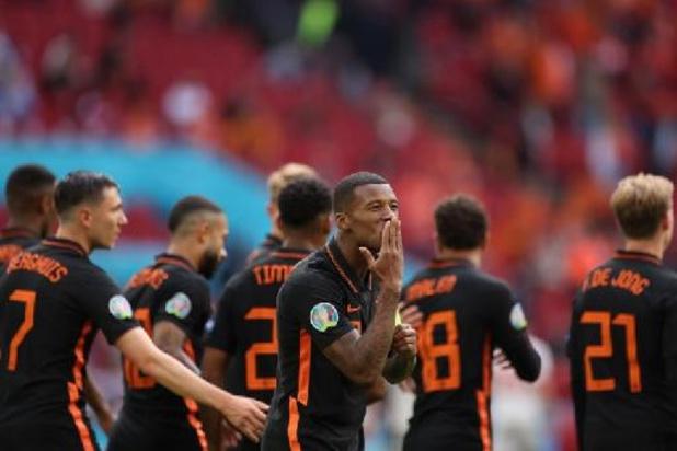 Georgino Wijnaldum, Homme du Match de Macédoine du Nord - Pays-Bas