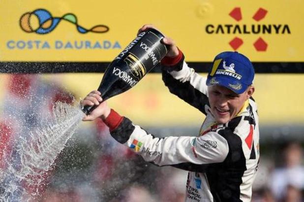 Le champion du monde Ott Tänak s'engage pour deux ans chez Hyundai
