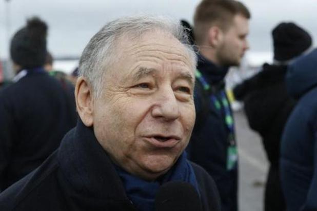 Pour Jean Todt, la crise offre l'occasion de réduire les budgets très élevés en F1