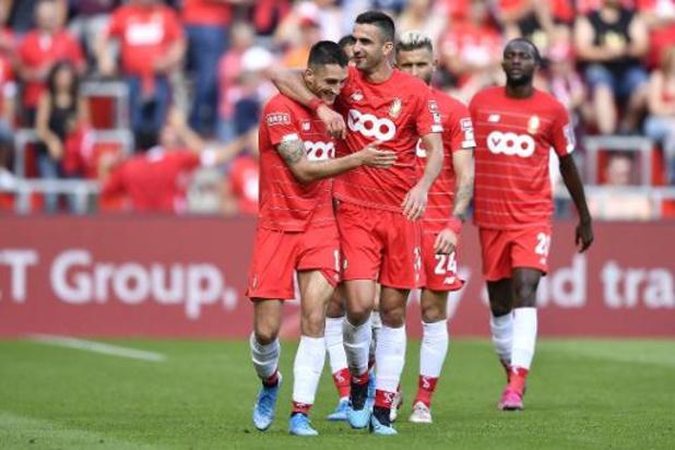 Standard opnieuw alleen leider na 3-0 zege tegen Eupen