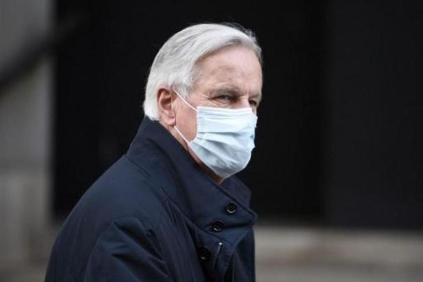 Barnier na quarantaine terug fysiek naar Londen voor brexitonderhandelingen