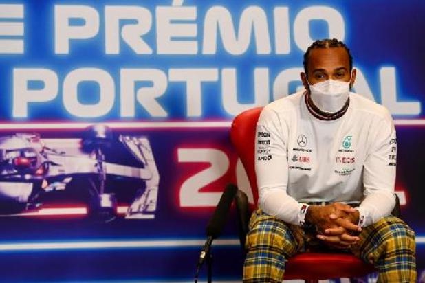 F1 - GP van Portugal - Hamilton kondigt spontaan aan dat hij in Formule 1 blijft