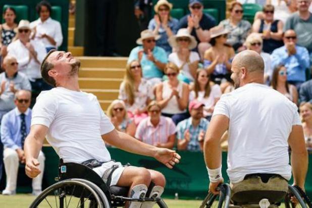 Masters rolstoeltennis - Joachim Gérard voorbij Jef Vandorpe naar finale dubbelspel