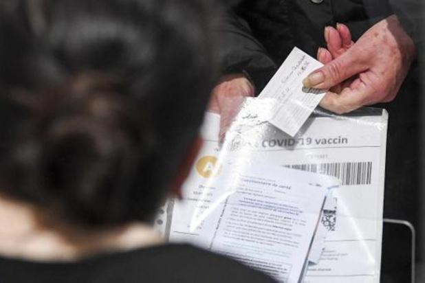 """La Wallonie lance lundi l'opération """"Re Vax 50+"""""""