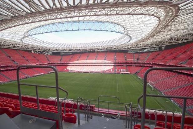 """Euro 2020 - Bilbao table sur 13.000 spectateurs, """"irréalisable"""" pour la fédération"""