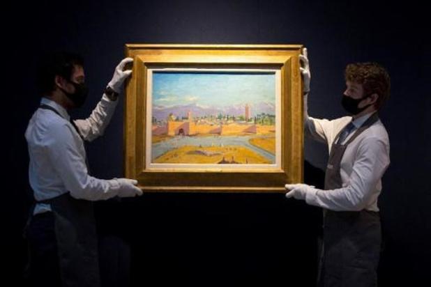 Une toile de Churchill adjugée plus de 8 millions d'euros à Londres