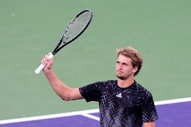 Alexander Zverev wint in Indian Wells voor het eerst van Andy Murray