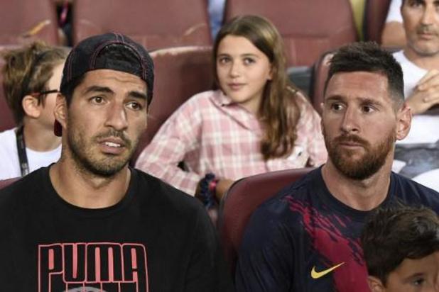 La Liga - Suarez keert dit weekend terug bij Barcelona, nog geen zekerheid over comeback Messi