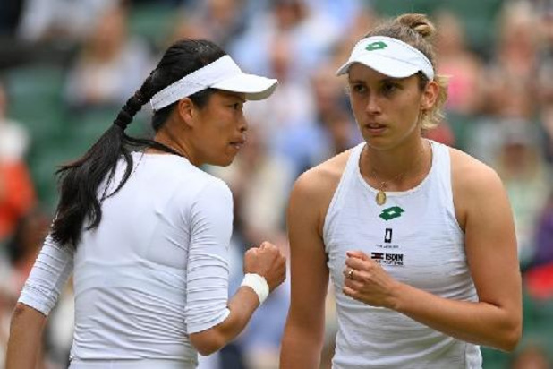 US Open - Elise Mertens sneuvelt in kwartfinales dubbelspel