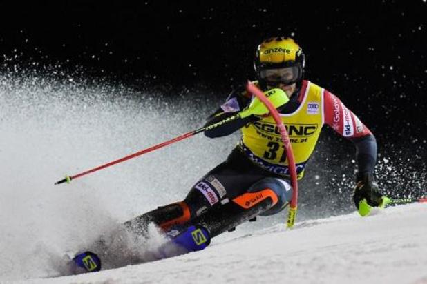 Coupe du monde de ski alpin - Victoire de Marco Schwarz à Schladming, Armand Marchant 16e
