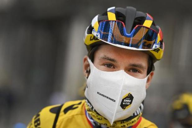 Primoz Roglic start met vertrouwen aan de Tour