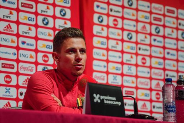 Diables Rouges - Les Diables ont tiré les leçons de leur défaite 5-2 en Suisse, estime Thorgan Hazard