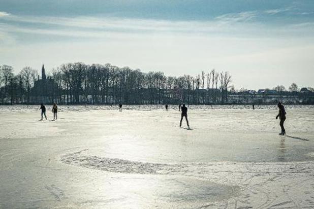 Groen licht voor schaatsen in Mechelen en Kalmthout, op meeste andere plaatsen niet