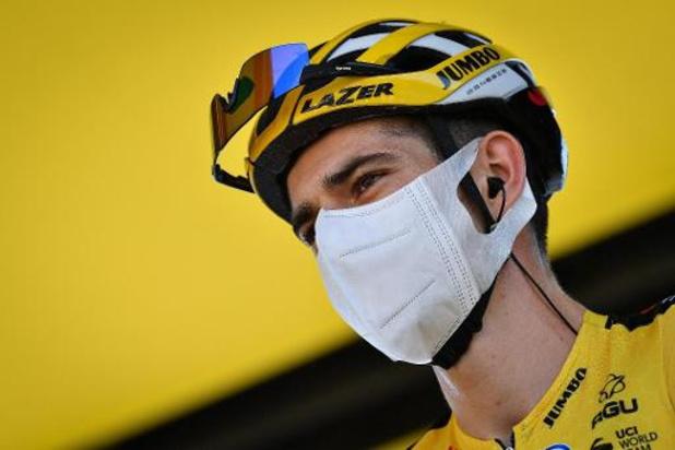"""Tour de France - Wout van Aert demonstreert op Port de Balès: """"Opdracht volbracht"""""""
