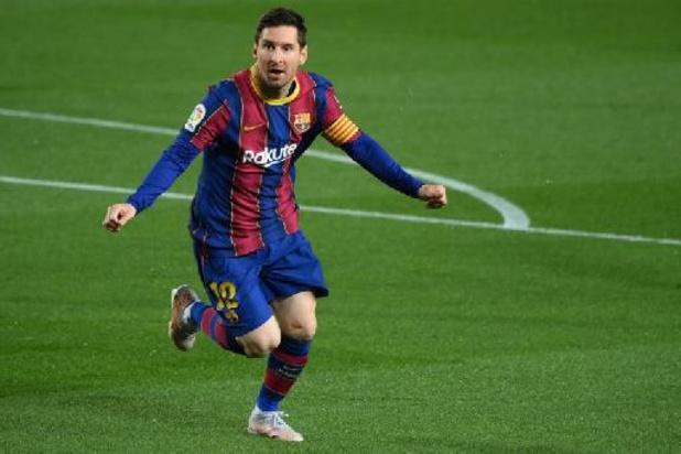 Messi rejoint Ronaldo dans le livre des records après sa 12e saison à au moins 25 buts